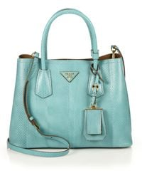 Prada Ayers Double Bag - Lyst