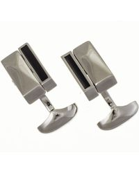 Black.co.uk Reversible Onyx And Mother Of Pearl Cufflinks Description Delivery & Returns Reviews