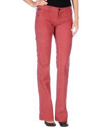 D&G Pink Casual Pants - Lyst