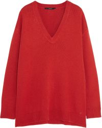 Gucci Oversized Cashmere Sweater - Lyst