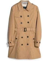 Mango Classic Cotton Trench Coat - Lyst
