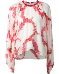 Giambattista Valli Abstract Print Blouse - Lyst