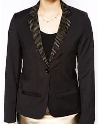 Sugarhill - Becky Blazer With Contrast Lapels - Lyst
