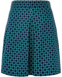 Louche - Dayana Circle Print Skirt - Lyst