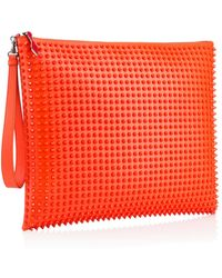 Christian Louboutin Peter Pouch Spikes - Lyst