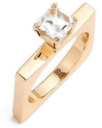 Stella Valle - 'bumper Car' Crystal Ring - Lyst