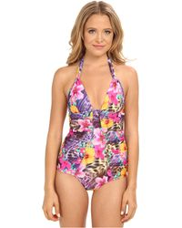 Nanette Lepore Playa Tropical Goddess Onepiece - Lyst