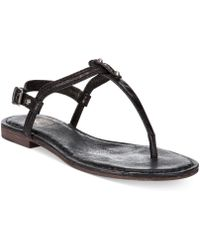 Frye Womens Carson Thong Sandals - Lyst