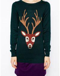 Sugarhill Stag Sweater - Lyst