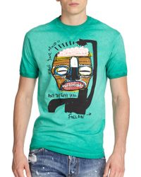 DSquared² Free Your Mind Tee - Lyst