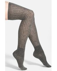 Vince Camuto - Lightweight Over The Knee Socks - Lyst