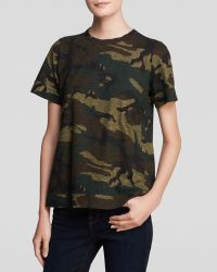 Elizabeth And James Tee  Charlie Camo - Lyst