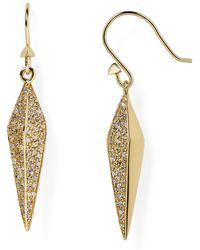 Melinda Maria - Nori Pavé Earrings - Lyst