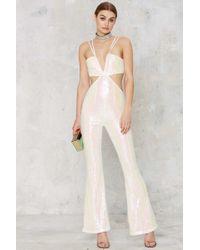 Glamorous | Pop Fizz Clink Sequin Jumpsuit | Lyst