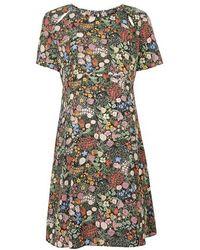 Topshop Maternity Woodland Print Tea Dress multicolor - Lyst
