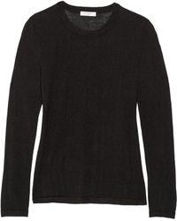 Equipment Violet Fineknit Silk and Cashmereblend Sweater - Lyst