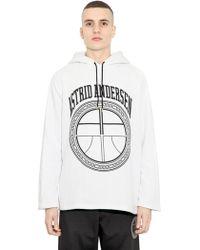 Astrid Andersen Oversized Cotton Sweatshirt - Lyst