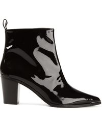 Acne Studios Loma Ankle Boots - Lyst