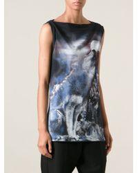 Stella McCartney Wolf Print Tshirt - Lyst
