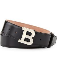 Bally Patent B-buckle Belt - Lyst