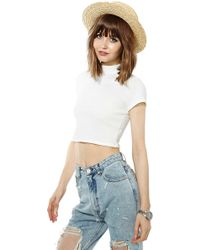 Nasty Gal Cameron Top - Lyst