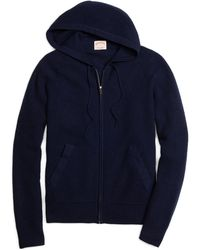 Brooks Brothers - Cashmere Hoodie - Lyst