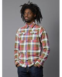 Garbstore Check Shirt - Lyst