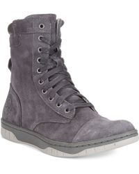 Diesel Tatradium Basket Butch Zip Boots - Lyst