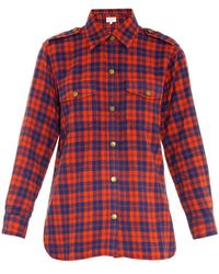 Current/Elliott The Perfect Plaid Shirt - Lyst