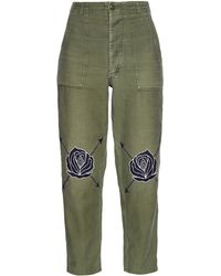 Bliss and Mischief - Song Of The East Army Cotton Trousers - Lyst