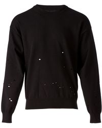 Maison Martin Margiela Distressed Sweater - Lyst