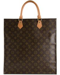 Louis Vuitton Monogram Flat Sac Bag - Lyst