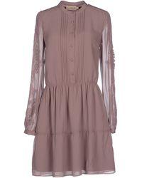 Bdba - Short Dress - Lyst