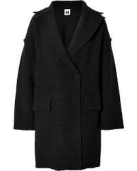 M Missoni Wool Blend Boucle Coat - Lyst