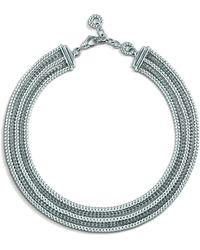 John Hardy Classic Chain Five Row Necklace bwMAI