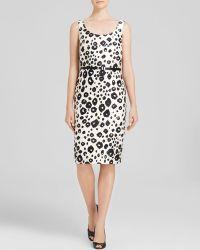 Max Mara Dress - Trani Sleeveless Print - Lyst