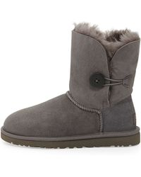 Ugg Bailey Button Short Boot - Lyst