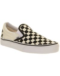 Vans Classic Slip On Trainers - Lyst