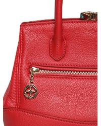 Desmo - Mini Sara Deer Embossed Leather Bag - Lyst