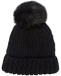 Barneys New York | Pom-pom-embellished Hat | Lyst