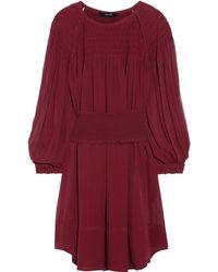 Isabel Marant Dahut Silk Chiffon Dress - Lyst