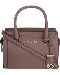 MICHAEL Michael Kors - Collins Small Soft Leather Tote - Lyst