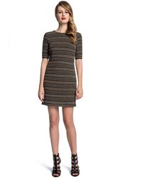 Cynthia Steffe Morgan Textured Stripe Dress - Lyst