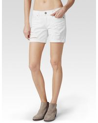 Paige Grant Short Lily Destructed - Lyst
