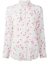 Equipment Stars Printed Shirt - Lyst