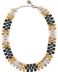Ela Stone - Freja Three-tone Necklace - Lyst