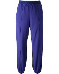Sonia By Sonia Rykiel Bicoloured Relaxed Trousers - Lyst