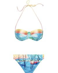 We Are Handsome The Bella Vista Soft Cup Bikini - Lyst