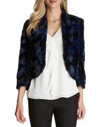 Cece by Cynthia Steffe | Faux Fur Jacket | Lyst