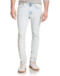 Nudie Jeans Lean Dean Carrot Slim-Fit Jeans blue - Lyst